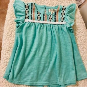 Jessica Simpson Embroidered Top